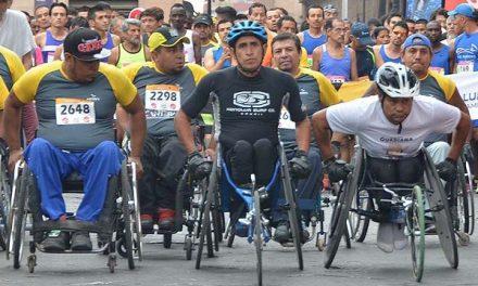"""Carrera atlética """"Por una discapacidad sin límite"""""""