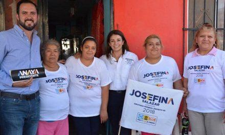 JSB escucha familias de la Col. Morales Saucito