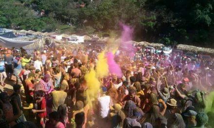 Santa María se llenó de color
