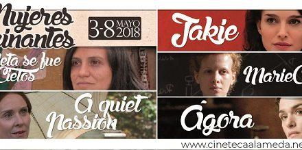 Ciclo del mes Mujeres Fascinantes en la CINETECA
