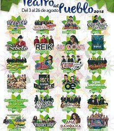 Cartel del Teatro del Pueblo FENAPO 2018