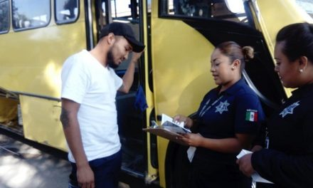 Dispositivos preventivos en transporte público