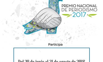 Premio Nacional de Periodismo 2018