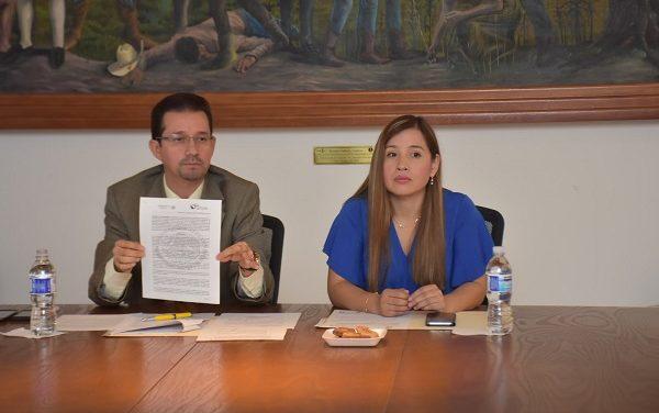 Firman convenio Ayuntamiento y CONAFOR