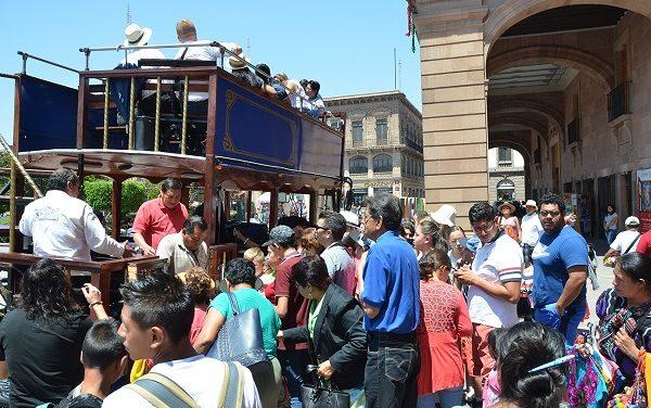 Gran afluencia de turistas en SLP