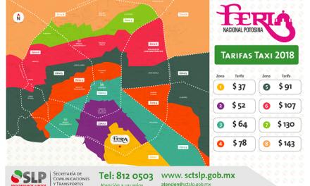 """Operará programa """"taxi seguro"""" en la FENAPO"""