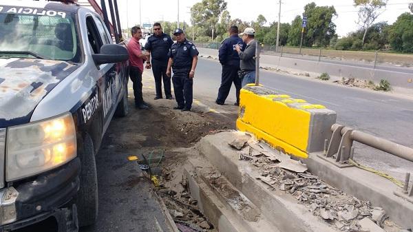 Dispositivo de seguridad vial en SGS