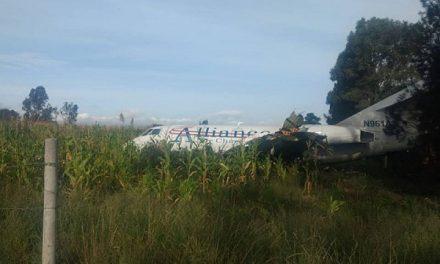 Atienden accidente de avioneta en Peñasco