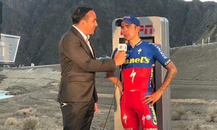 Román Villalobos al Campeonato Mundial de Ciclismo
