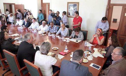 Reunión Comisión de Hacienda y funcionarios