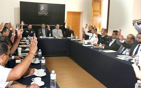 Sesión del  Consejo Intermunicipal de SP