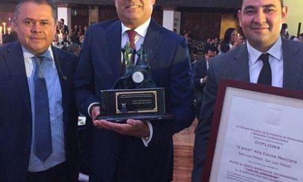 Restaurant K'amal  premio al mérito restaurantero