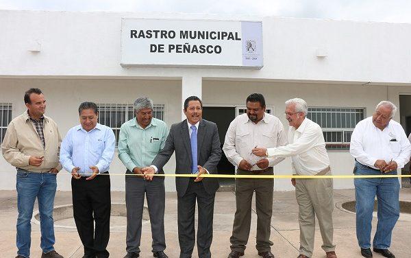 En funcionamiento Rastro Municipal de Peñasco