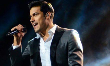 Carlos Rivera en concierto Plaza de Toros