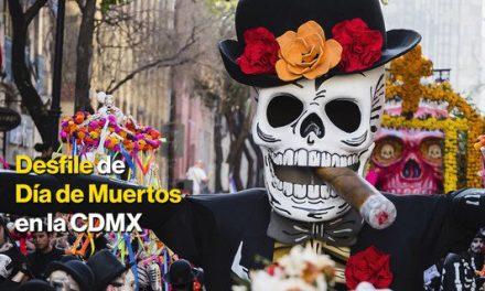 SLP en el desfile Día de Muertos en la CDMX