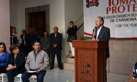 JMC asiste a protestas de alcaldes