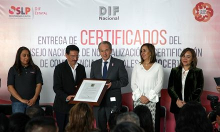Entregaron 148 certificados en estándares de competencia
