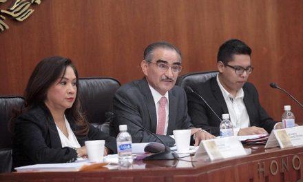 Abatir rezago en la comisión de gobernación