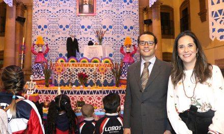 Altar de Muertos en Palacio Municipal