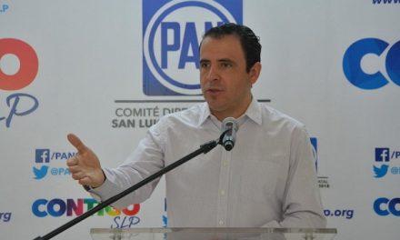 Condena consulta ocurrente de AMLO: PAN SLP