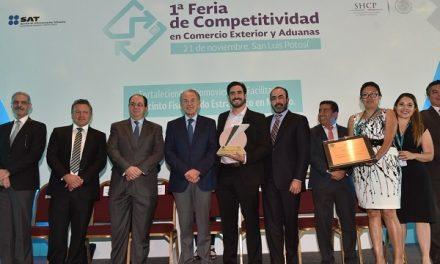 Entregan Premio Estatal de Exportación 2018