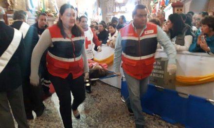 Cruz Roja en el operativo Guadalupano
