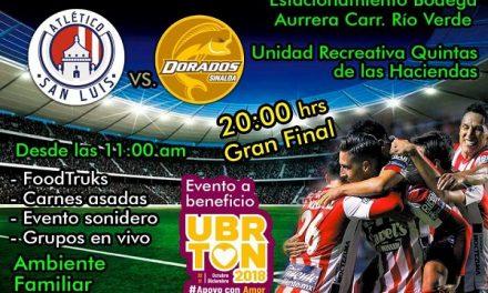 Evento a favor de la UBR