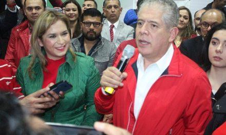 Elias Pesina a la dirigencia del CDE del PRI