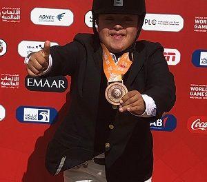 Guadalupe López gana bronce en Abu Dhabi