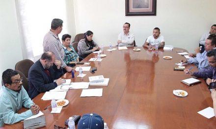 Reunión con autoridades del Ejido La Palma