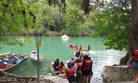 Gran afluencia de turistas en el fin de semana largo