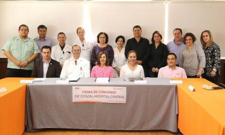 Convenio colaboración del DIF y Hospital Central