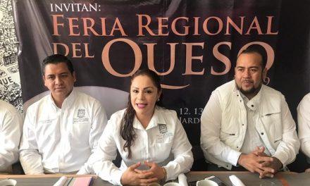 """Presentan la """"Feria Regional del Queso"""""""