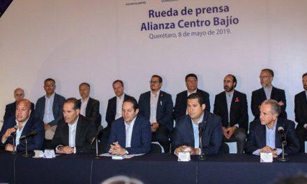 Gobernadores conforman una alianza Centro-Bajío-Occidente