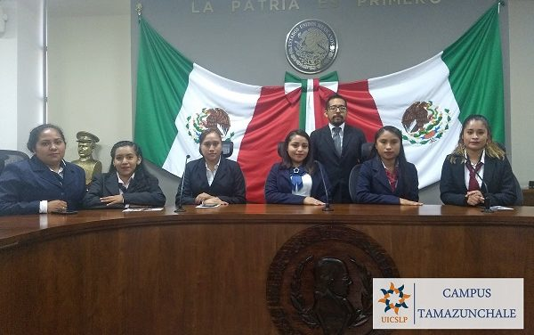 Estudiantes visitan Congreso del Estado de Hidalgo