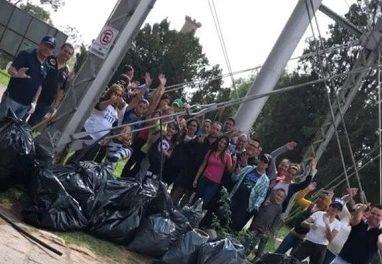 Limpieza y reforestación en Los Filtros