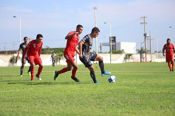 ADSL Sub 20 perdió el invicto ante Veracruz