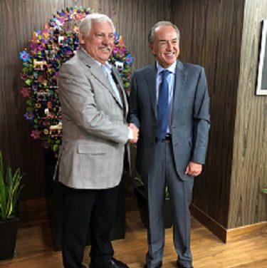 JM Carreras  se reúne con el titular de SADER