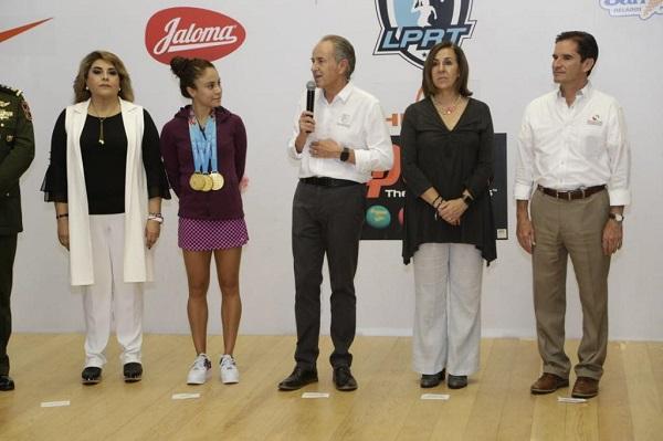 "Inauguran torneo ""Paola Longoria Experience"""