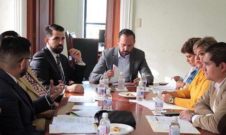 Cero rezagos en la comisión desarrollo económico