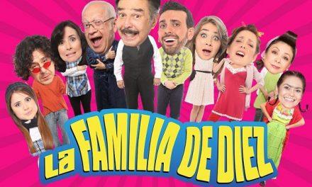 UNA FAMILIA DE DIEZ EN SLP