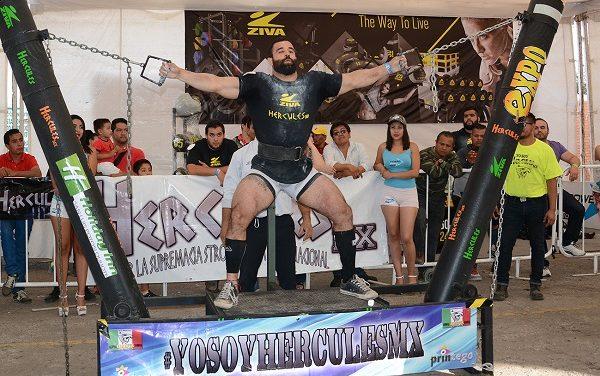 """Todo listo para """"Hércules Strongman"""""""