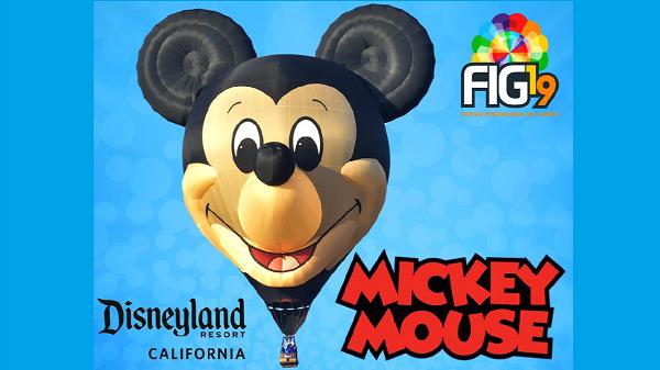 Mickey Mouse en el FIG LEON