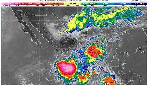 Se presentaran fuertes lluvias en la Huasteca: PC
