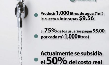 SLP entre las entidades con menor tarifa de agua