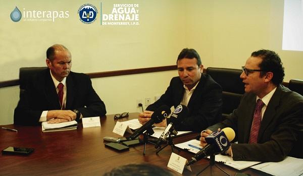 Apoyo de los servicios de agua de Monterrey