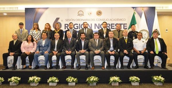 Sesión Consejo Académico de la Región Noreste