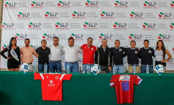 Presentan la final Liga Potosina de Futbol