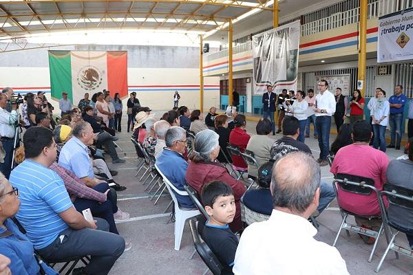"""""""Gobierno de a pie"""" en la Col. Guadalupe"""