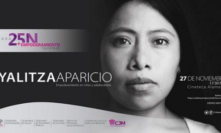 Yalitza Aparicio en SLP